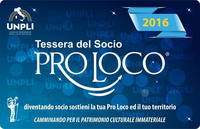 Tesseramento Pro Loco 2016